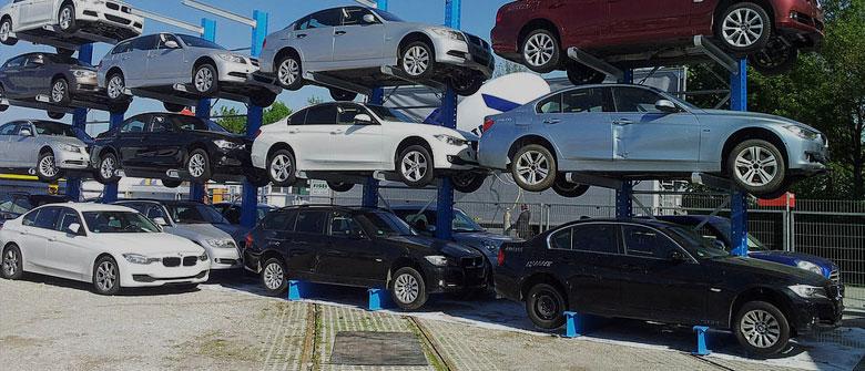 Service de stockage de voitures